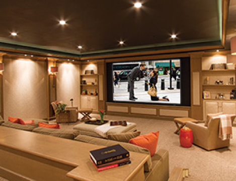 5 ways to turn your unused space into a useful room for Living room home theatre designs